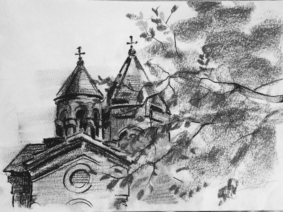 Անահիտ Մաճկալյան․ Սուրբ Զորավոր եկեղեցու ճեպանկար․ շրջանավարտ